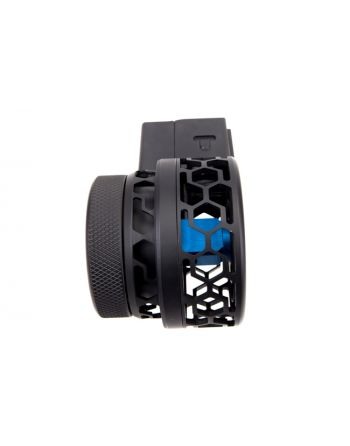 F5 MFG AR-15 .223/5.56 Skeletonized Drum Magazine - 50 RD