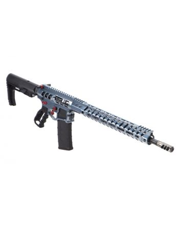 "F-1 Firearms RA UDR-15 3G Rifle - 16"" Blue Titanium Polish"