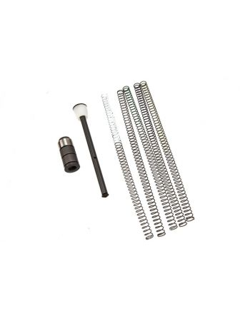 JP Enterprises GEN 2 AR15 Silent Captured Spring Builder Kit with 5 Alternative Spring Pack -Heavy Version