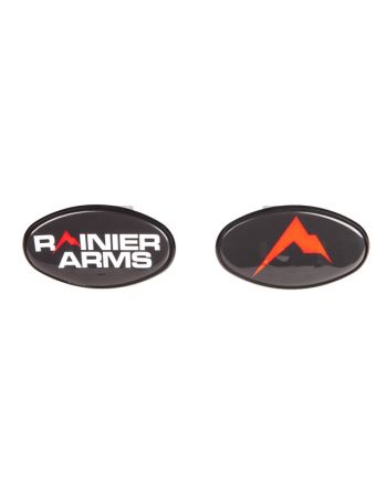 Rainier Arms Oval Trailer Hitch Cover 2""