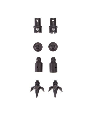 KNS Precision Quick Change Bipod Adapter and Feet Kit - B&T Atlas