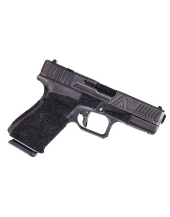 Agency Arms Field Battle Glock 19 Gen 4 Battleworn Gray Agency Black Nitride Barrel