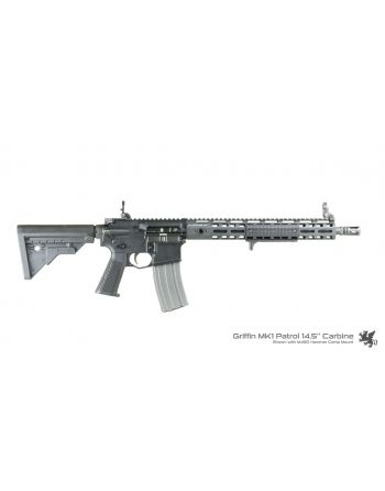 "Griffin Armament MK1 Patrol .223 Wylde Carbine Rifle - 14.5"" Pinned"