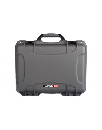 Nanuk 910 Hard Plastic Case - Graphite w/ Foam