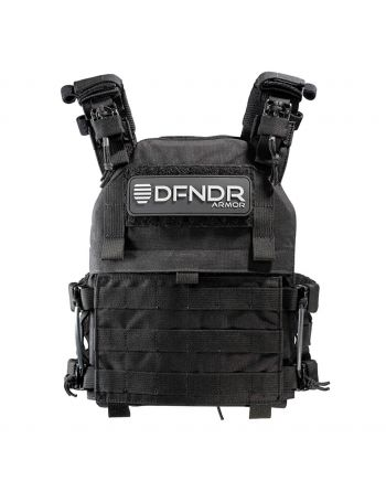 DFNDR Armor QRC Plate Carrier - Black