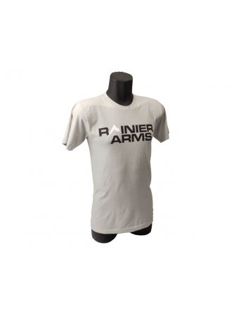 Rainier Arms Classic Logo T-Shirt - Light Gray