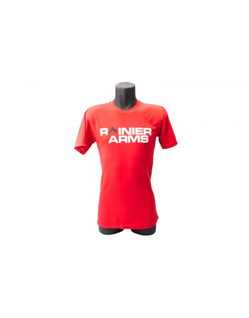 Rainier Arms Classic Logo T-Shirt - Red