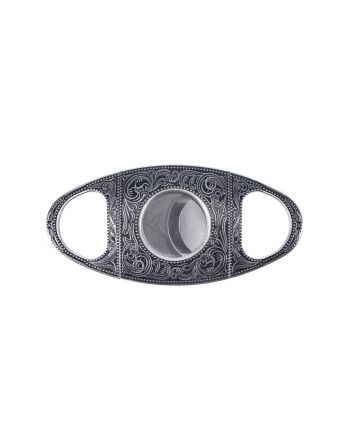 Rainier Arms Double Blade Cigar Cutter - Vintage Silver