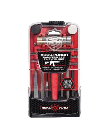 Real Avid Accu-Punch Hammer & AR-15 Pin Punch Set