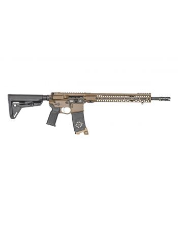"CMT Tactical PATRIOT BROWN MOD 1 OPTICS READY AR-15 RIFLE - 16"" (M-LOK)"