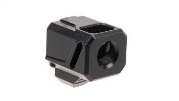 Faxon Firearms EXOS-513 Double Stack Compensator for Glock