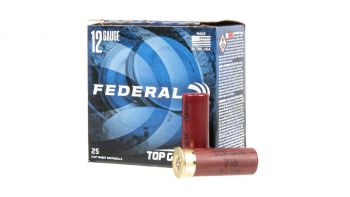 "Federal Top Gun 12 Gauge 2.75"" 7.5 Shot Ammunition - 25rd Box"