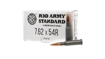 Red Army Standard 7.62x54R 148gr FMJ Ammunition - 20rd Box