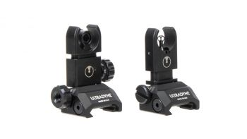 Ultradyne C4 Folding Front and Rear Sight Combo
