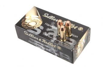 Sellier & Bellot Ammunition 10mm Auto 180 Grain Full Metal Jacket 50 Rd Box