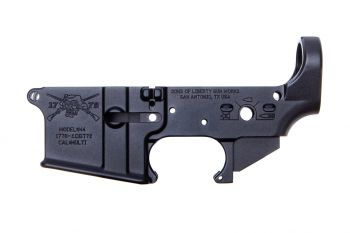 Sons of Liberty Gun Works Stripped Lower Receiver - Angry Patriot