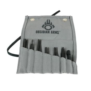 Obsidian Arms Complete AR-15 Armorer's Punch Set - 12 Piece