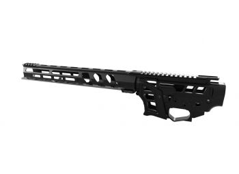 "Lead Star Arms Skeletonized PCC/AR-9 Builders Kit w/ 15"" Ravage Handguard"
