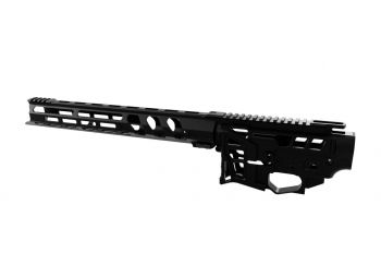 "Lead Star Arms Skeletonized LSA-15 Builders Kit w/ 11"" Ravage Handguard"