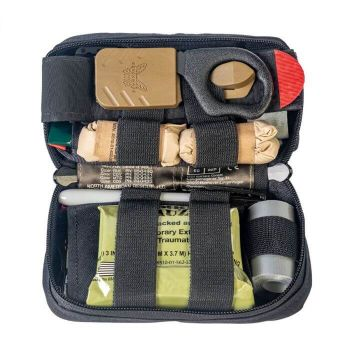 North American Rescue USCG MINI IFAK First Aid Kit - Black