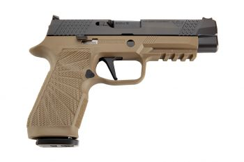 Wilson Combat WCP320 Full 9mm Pistol w/ Action Tuned Straight Trigger - Tan