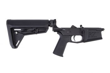 Aero Precision M5 Complete Lower Receiver w/ Magpul MOE SL Grip & Stock - Black