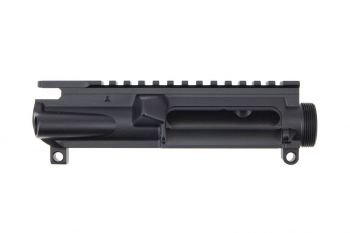 Aero Precision AR15 Stripped Upper Receiver w/ Vertical Flag - Black
