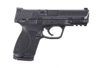 Smith & Wesson M&P 2.0 Compact 9MM Pistol w/ Thumb Safety - 15RD Black