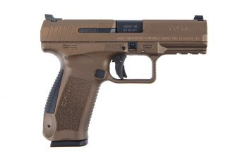 Canik TP9DA 9mm Pistol - 18rd Burnt Bronze