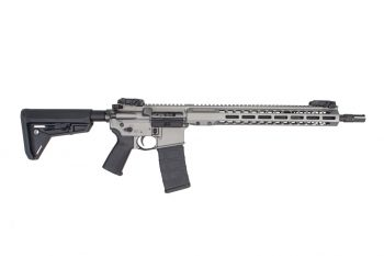 Barrett Rec7 5.56 DI Rifle - Tungsten Grey Cerakote 16""