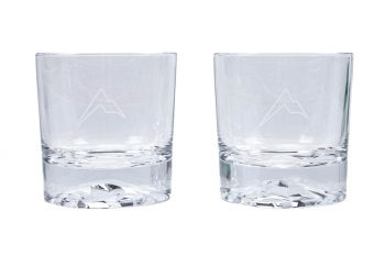 Rainier Arms Whiskey Glass Set (2-Pack)