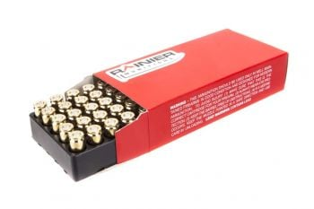 Rainier Munitions Remanufactured 10mm 165gr FMJ Box - 50 Rd