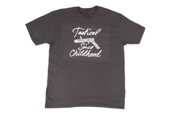 """TriggrCon Shirt """"Tactical Since Childhood"""""""