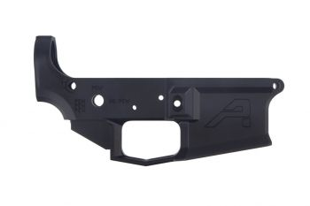 Aero Precision M4E1 Stripped Lower Receiver Special Edition: Pew - Anodized Black