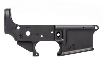 Aero Precision AR15 STRIPPED LOWER RECEIVER LIMITED EDITION: PEW