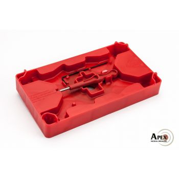 Apex Tactical Specialties Polymer Armorer's Tray and Pin Punch