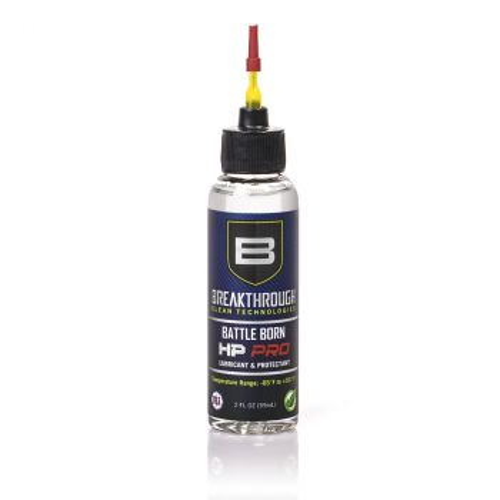 Breakthrough Battle Born HP Pro Lubricant and Protectant 2 fl oz Bottle