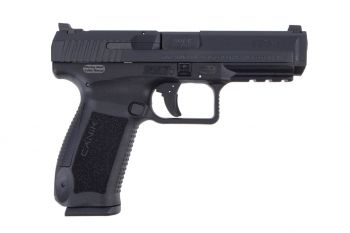 "CANIK TP9SF One Series 9mm Pistol 4.47"" Barrel Black - 18 Round"