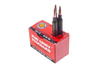 Century Arms Red Army Standard 5.45x39 59gr FMJ Ammunition - 20rd Box