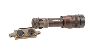 Cloud Defensive REIN Micro Weapon Light w/ Switch - FDE