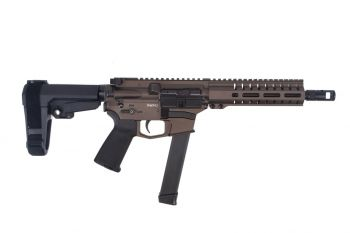 "CMMG Banshee 200 MKGS 9mm Pistol - 8"" Midnight Bronze"