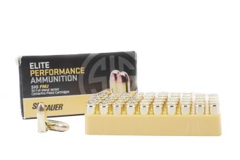 Sig Sauer 9MM 147GR ELITE BALL FMJ Ammunition - 50 RD Box