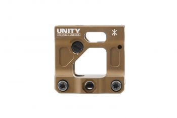 Unity Tactical FAST Micro Red Dot Mount - FDE