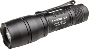 Surefire E1B Backup with MaxVision Flashlight - 400/5 Lumens