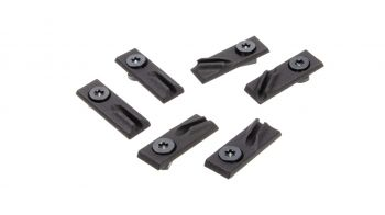 Emissary Development M-LOK Modular Cable Clip 6 Pack - Bundle A