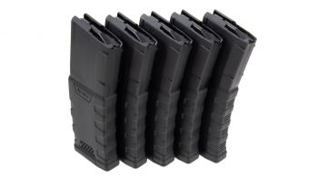 Mission First Tactical (MFT) EXD Polymer AR-15 Magazine - 30rd Black (5 Pack)