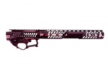 "F-1 Firearms BDR-15-3G Receiver Set w/ C7M 14.75"" Handguard - Maroon Polished"