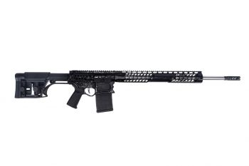 "F-1 Firearms Custom BDR 6.5 Creedmoor Rifle - 22"" Black/Black Splash"