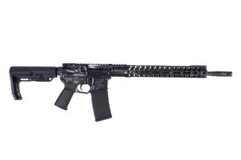 """F-1 Firearms Patriot Series FDR‐15‐3G H7M 5.56 Rifle - 16"""" Distressed Grey"""