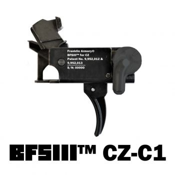 Franklin Armory BFSIII AR-C1 Binary Curved Trigger - CZ Scorpion